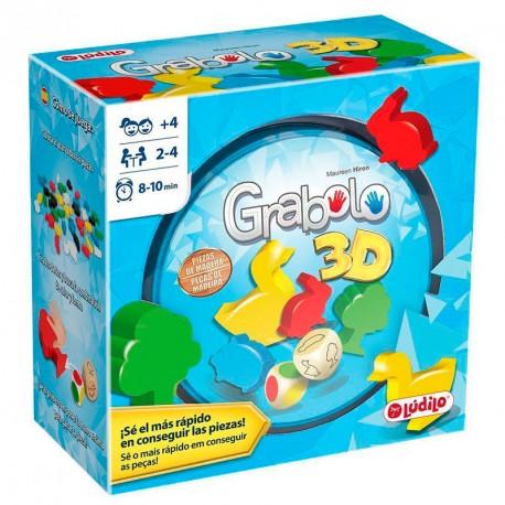 Grabolo 3D - veloz juego de reacción para 2-4 jugadores