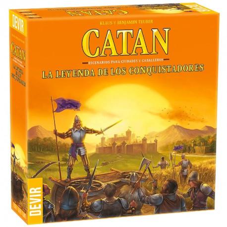 Catán: Leyenda de los conquistadores - expansión para el juego básico (ed. limitada)