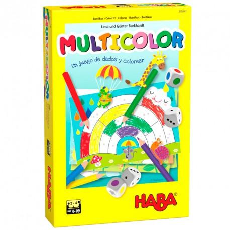 Multicolor - joc d'acolorir per a 2-4 jugadors