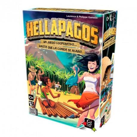 """Hellapagos - juego """"cooperativo"""" para 3-12 supervivientes"""