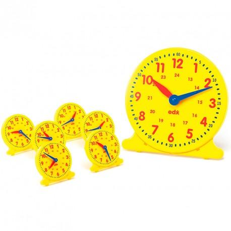 Set Rellotges per a l'aula