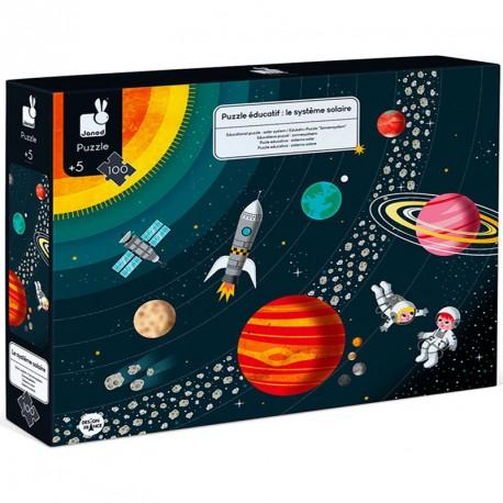Puzzle Educativo: El Sistema Solar - 100 piezas