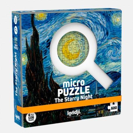 Starry Night - Micro Puzle 600 peces