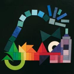 Puzzle magnético - elementos gráficos