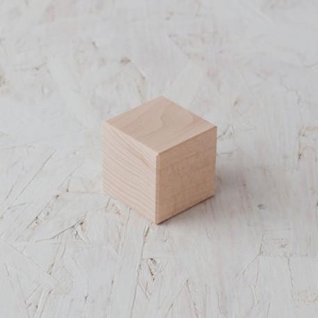 Cub 50x50x50mm Bloc de fusta de construcció