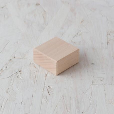Maó 50x25x50mm bloc de fusta de construcció
