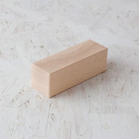 Bloc 50x50x150mm de fusta de construcció