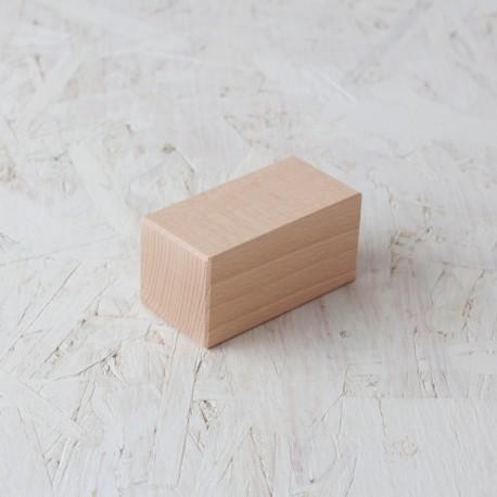 Doble cub 50x50x100mm Bloc de fusta de construcció