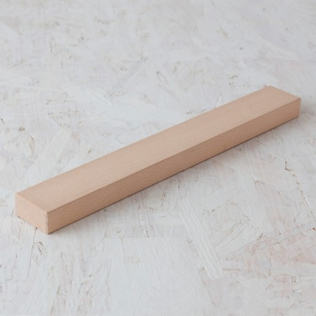 Listón extra-largo (bloque rectangular) 50x25x400mm Bloque de madera de construcción