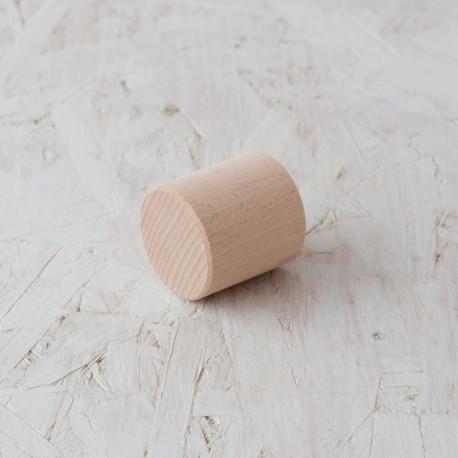 Cilindro corto Ø48x50mm Bloque de madera de construcción