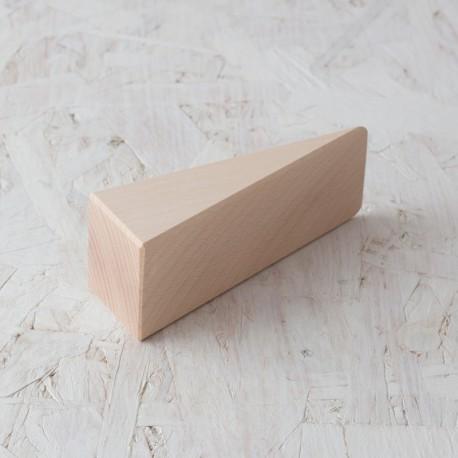 Cuña grande 50x150x160mm Bloque de madera de construcción