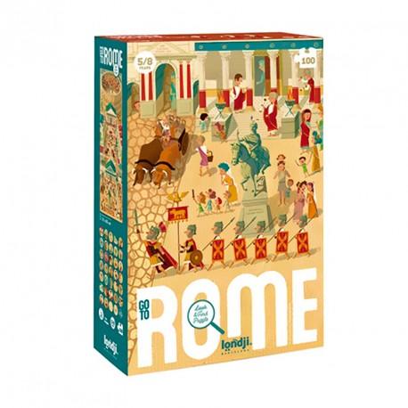Puzzle Viaje a Roma - 100 pzas.