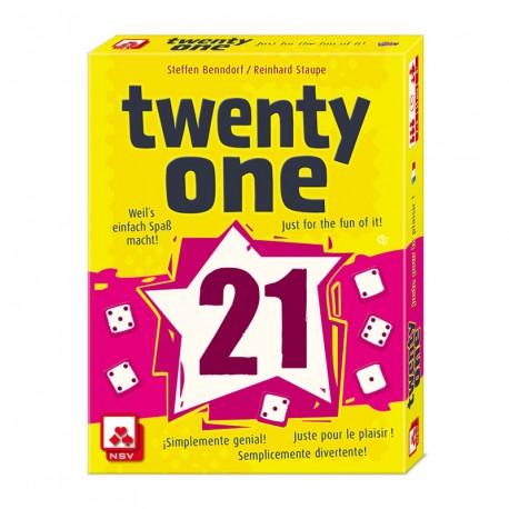 Twenty one - juego de dados para 2-6 jugadores