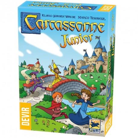 Carcassonne Junior ed. 2020 - Mi primer juego de estrategia