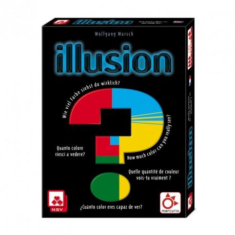 Illusion - juego de cartas para 2-5 jugadores