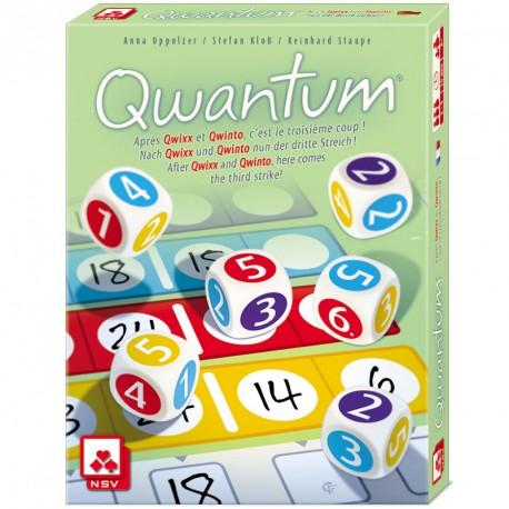 Qwantum - joc de daus per 2-4 jugadors