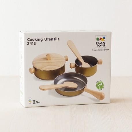 Set de utensilios para cocinar