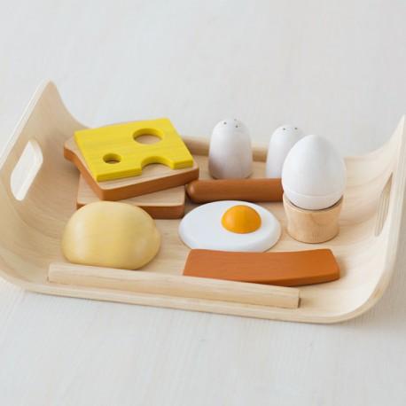 Bandeja de desayuno inglés
