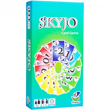 SKYJO - juego de cartas para 2-8 jugadores