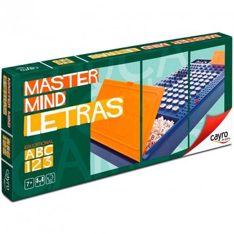 Master Mind Letras - juego de lógica deductiva para 2 jugadores