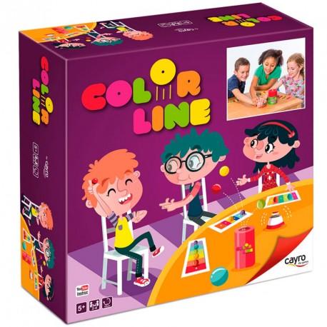 Color Line - juego de acción y rapidez para 2-4 jugadores