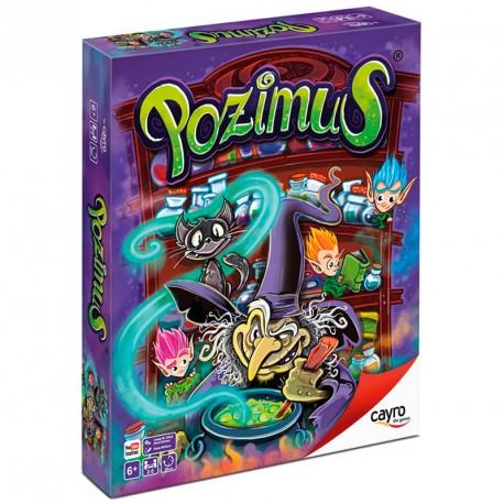 Pozimus - juego de memoria para 2-5 jugadores