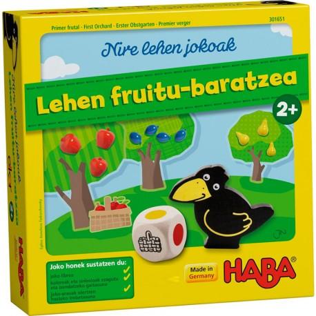 Lehen Fruitu-baratzea (Primer Fruiter) versión euskera - joc cooperatiu per a 1- 4 jugadors
