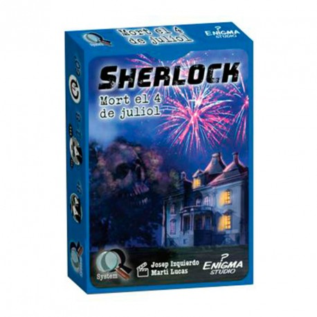 Sèrie Q: Sherlock: Mort el 4 de juliol - joc de recerca en equip per a 1-8 jugadors (català)