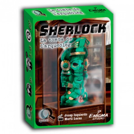 Serie Q: Sherlock: La tumba del arqueólogo - juego de investigación en equipo para 1-8 jugadores