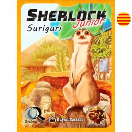 Serie Q: Sherlock Junior: Suriguri - juego de investigación en equipo para 2-8 jugadores