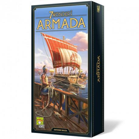 7 Wonders Armada Ed. 2020 - Expansión del juego de mesa estratégico para 3-7 jugadores