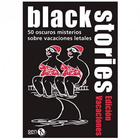 Black Stories Ed. Vacaciones - 50 nuevos misterios escalofriantes