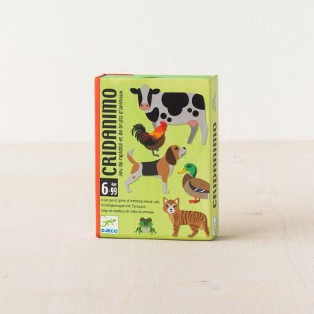 Cridanimo - juego de reacción con sonidos de animales para 2-6 jugadores