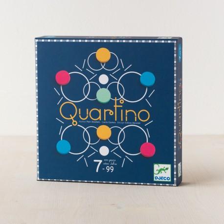 Quartino - juego de estrategia familiar para 2-4 jugadores