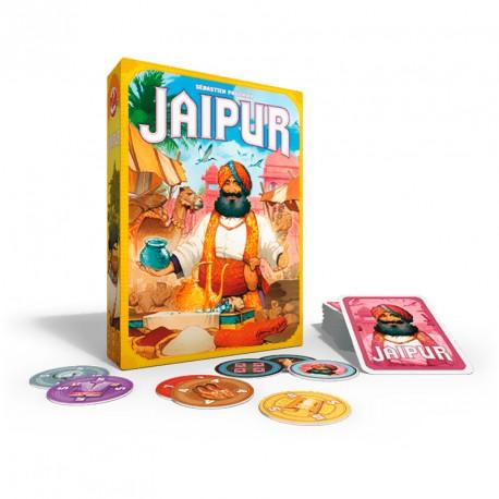 Jaipur - juego de cartas de negociación para 2 jugadores