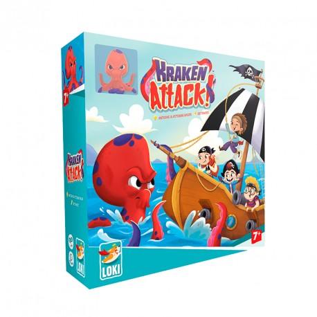 Kraken Attack! - mitológico juego cooperativo para 1-4 jugadores