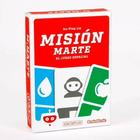 Misión Rescate - juego de cartas cooperativo para 1-6 jugadores