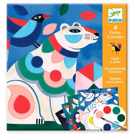 Targetes per a pintar amb aquarel·la - El Berenar