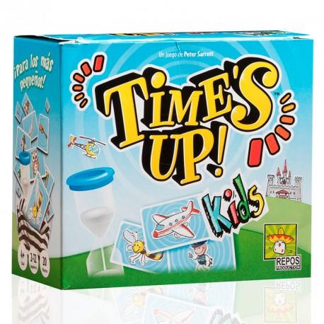 Time's Up Kids - juego cooperativo de adivinar personajes para 2-12 jugadores