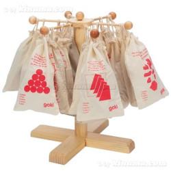 Rompecabezas La pirámide de bolas, 6 piezas