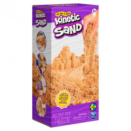 Kinetic Sand - 1 kg de arena moldeable
