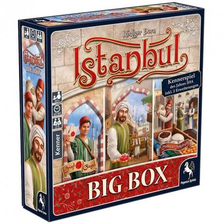 Istanbul BIG BOX - juego de mesa de estrategia + 2 expansiones