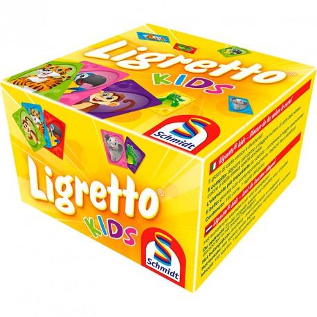 Ligretto rojo - juego de cartas