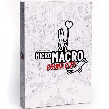 Micro MACRO - juego cooperativo de detectives para 1-4 jugadores