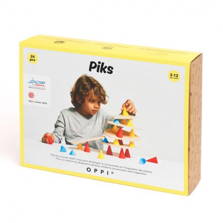 Oppi Piks Pequeño (24 piezas) - juego de construcción