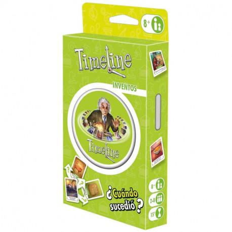 TimeLine Invents (blister) - joc de cartes de coneixements generals
