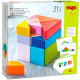 Cubo Tangram - Juego de composición de madera en 3D