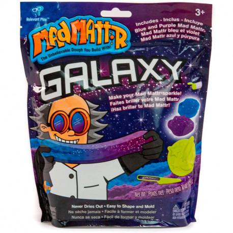 Mad Mattr Galaxy Pack - massa arenosa emmotllable blava i porpra