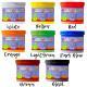 6 PlayColor Finger Paint 40ml colores básicos - Pintura de dedos