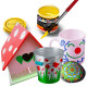 6 PlayColor Acrylic 40ml colores básicos - Pintura acrílica